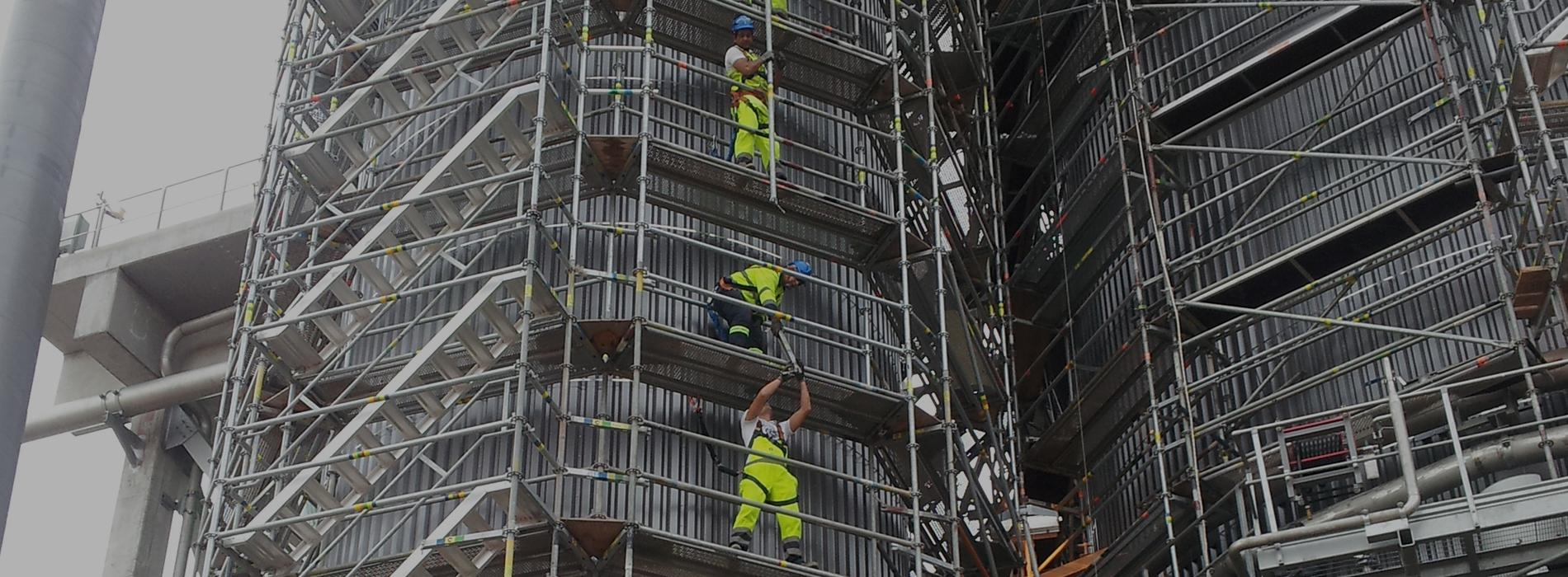 Telineasentajia Craftmanilta kaikkiin teollisuuden ja rakennusalan hankkeisiin.